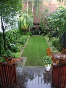 Elegant backyard landscaping ideas using bricks 27