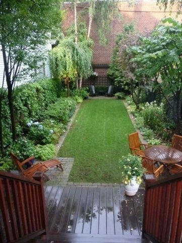 Elegant backyard landscaping ideas using bricks 27