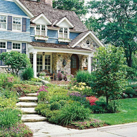Elegant backyard landscaping ideas using bricks 38