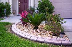 Elegant backyard landscaping ideas using bricks 45