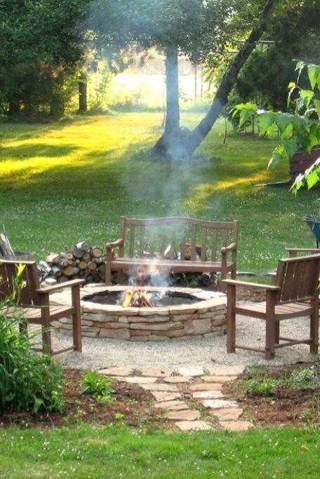 Elegant backyard landscaping ideas using bricks 50