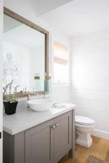 Elegant bowl less sink bathroom ideas 21