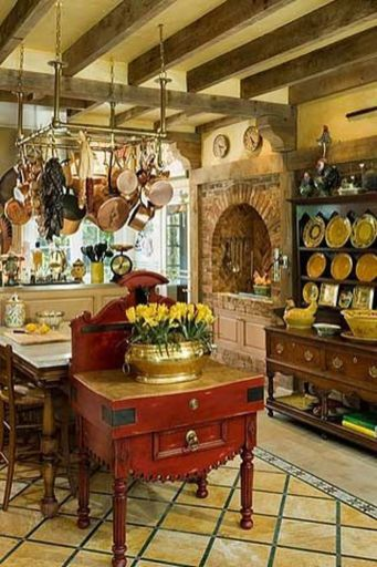 Fancy rustic italian decor ideas 10