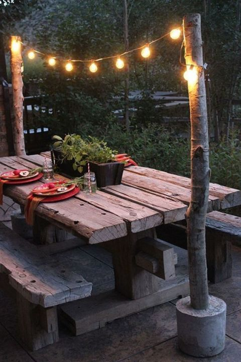Gorgeous night yard landscape lighting design ideas 20