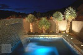 Gorgeous night yard landscape lighting design ideas 25