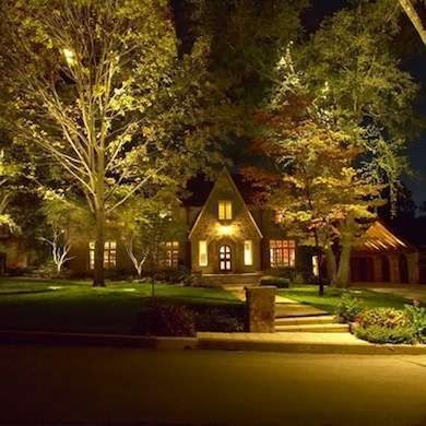 Gorgeous night yard landscape lighting design ideas 31