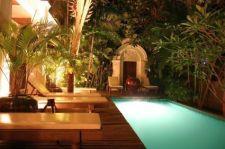 Gorgeous night yard landscape lighting design ideas 43