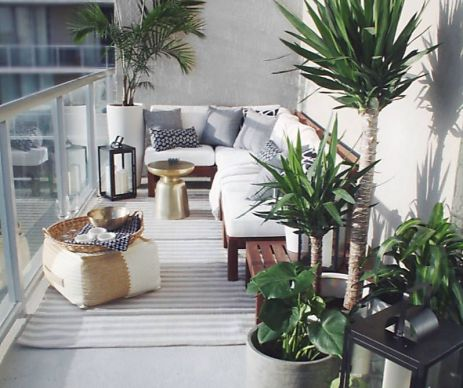 Modern small outdoor patio design decorating ideas 08