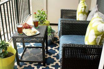Modern small outdoor patio design decorating ideas 32