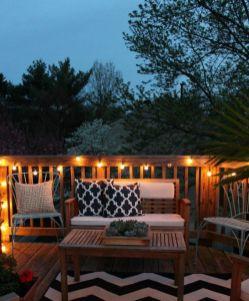 Modern small outdoor patio design decorating ideas 49