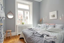 Stunning grey bedroom flooring ideas for soft room 13