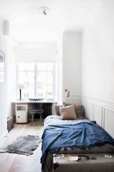 Stunning grey bedroom flooring ideas for soft room 38