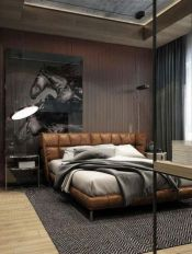Stunning grey bedroom flooring ideas for soft room 39