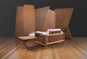Unique bamboo sofa chair designs ideas 12