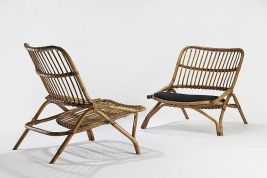 Unique bamboo sofa chair designs ideas 14