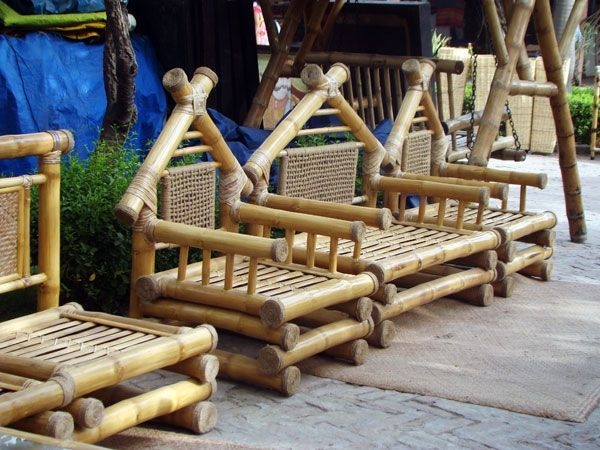 Unique bamboo sofa chair designs ideas 26