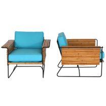 Unique bamboo sofa chair designs ideas 52