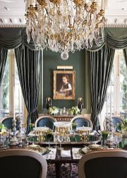 Unique dining room design ideas with french style 01