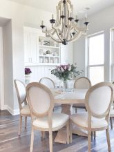 Unique dining room design ideas with french style 03