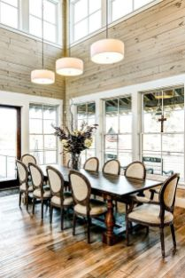 Unique dining room design ideas with french style 17