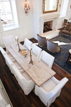 Unique dining room design ideas with french style 19