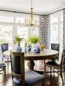 Unique dining room design ideas with french style 27