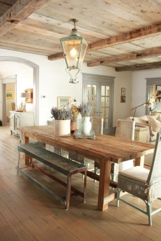 Unique dining room design ideas with french style 36