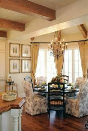 Unique dining room design ideas with french style 39