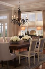 Unique dining room design ideas with french style 40