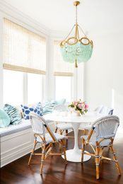 Unique dining room design ideas with french style 42