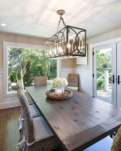 Unique dining room design ideas with french style 44