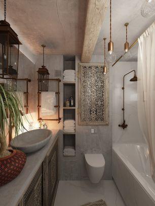 Affordable bathtub design ideas for classy bathroom 18