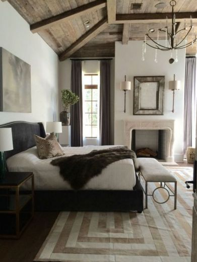 Awesome french style bedroom decor ideas 13
