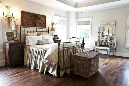 Awesome french style bedroom decor ideas 16