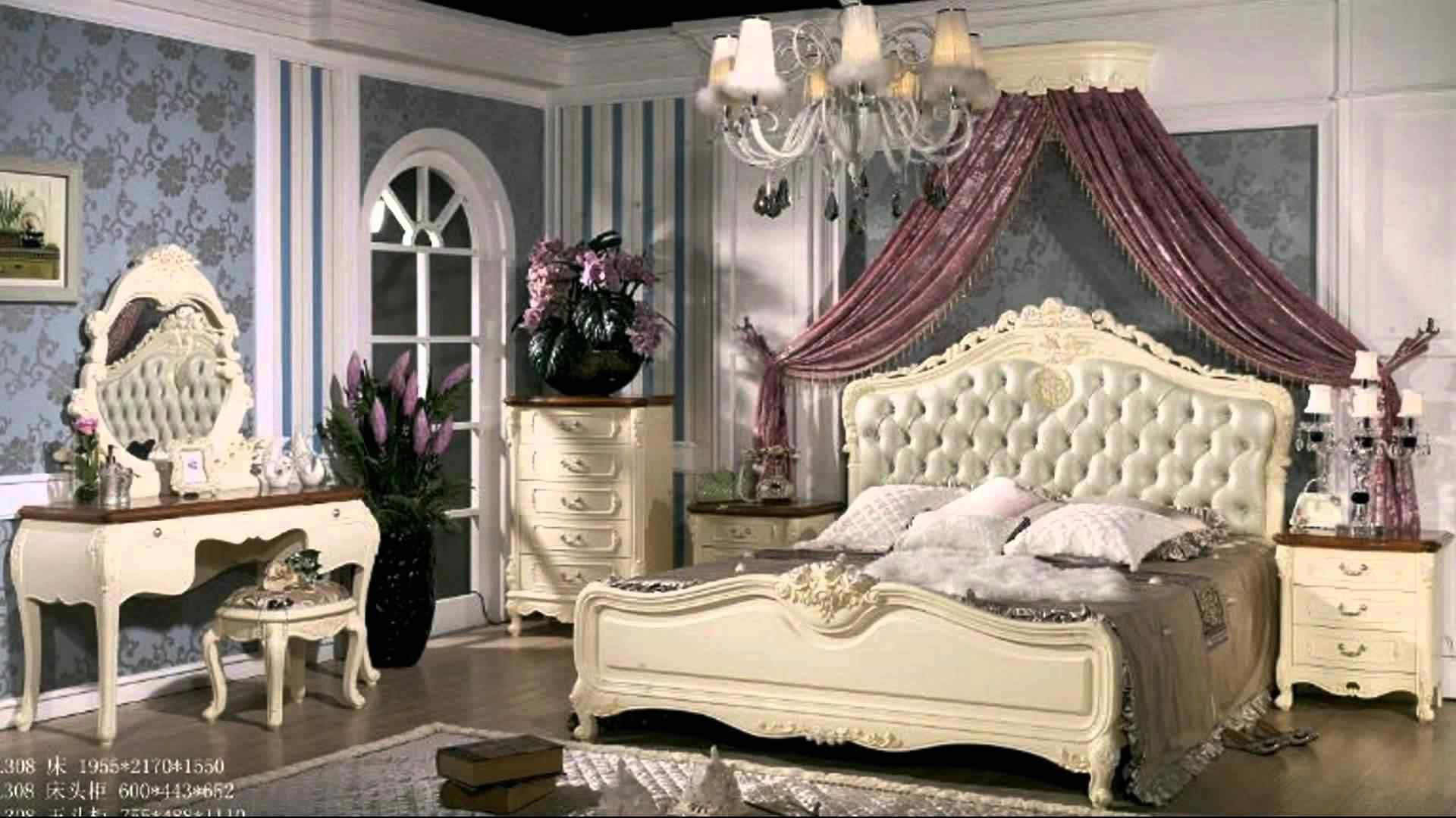 44 Awesome French Style Bedroom Decor Ideas