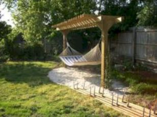 Best backyard hammock decor ideas 09