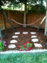 Best backyard hammock decor ideas 13