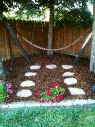 Best backyard hammock decor ideas 13