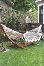 Best backyard hammock decor ideas 15