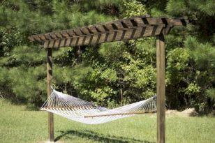 Best backyard hammock decor ideas 27