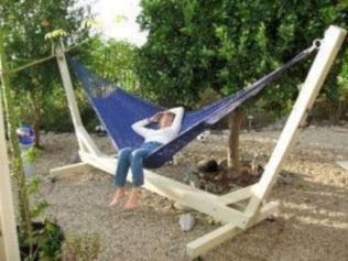 Best backyard hammock decor ideas 33