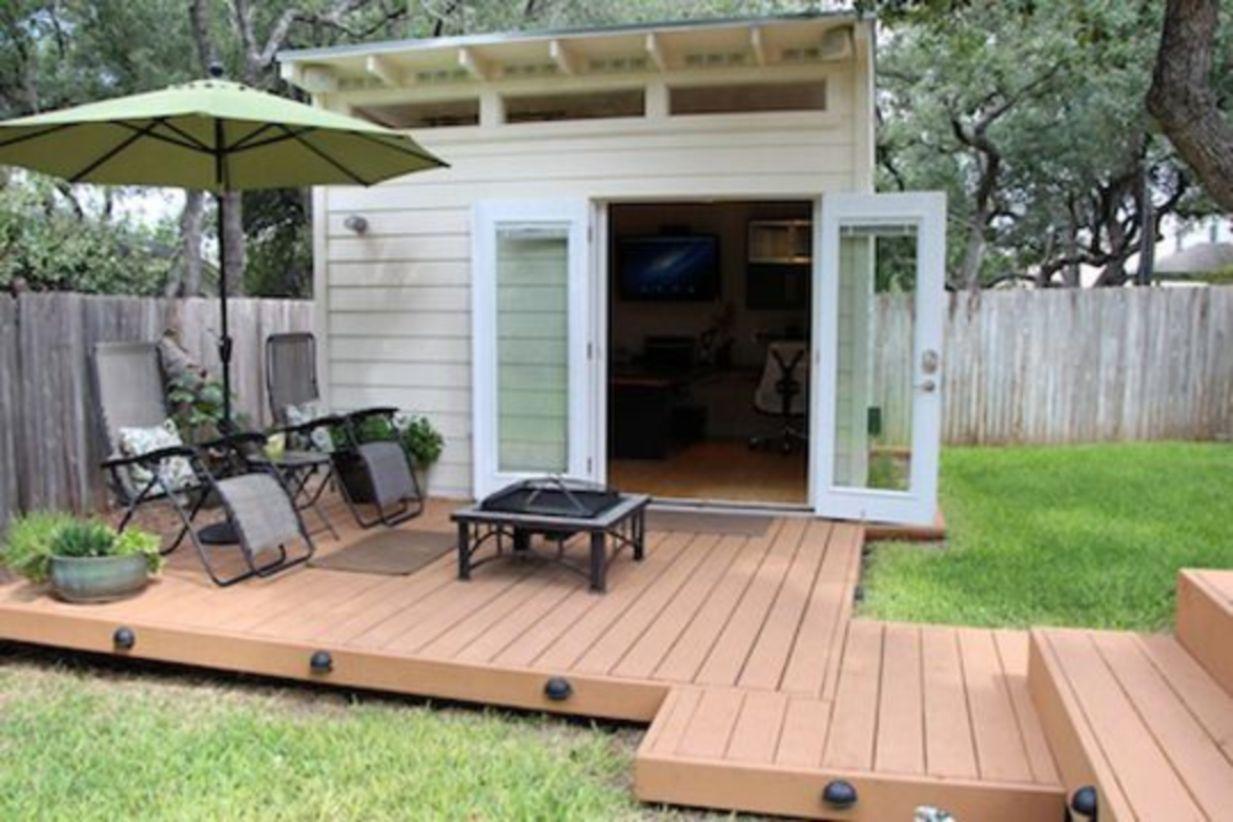 Captivating ideas for backyard studio office 04