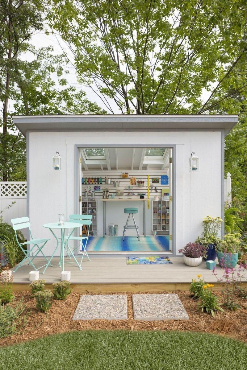 Captivating ideas for backyard studio office 17