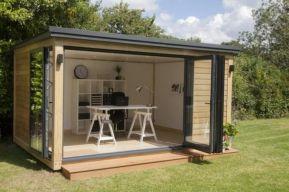 Captivating ideas for backyard studio office 38