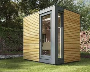 Captivating ideas for backyard studio office 43