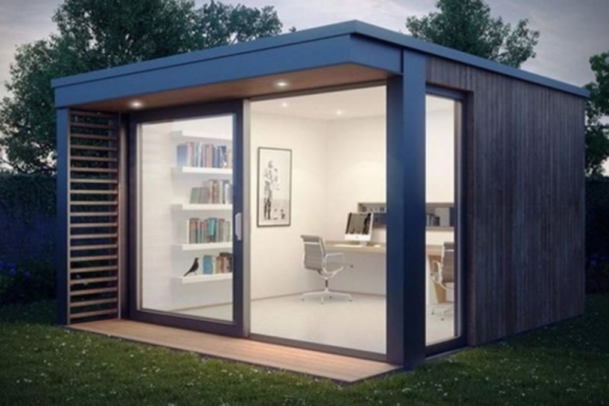 Captivating ideas for backyard studio office 44