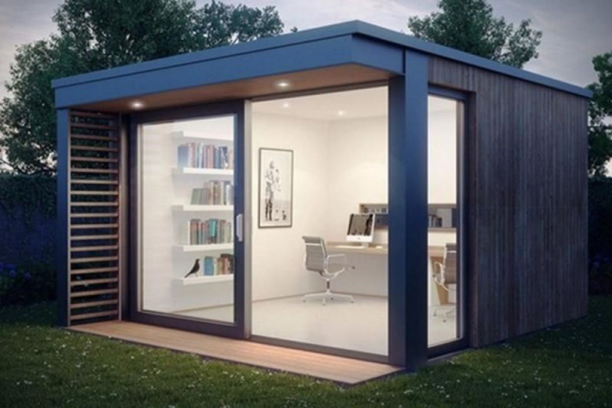 Captivating ideas for backyard studio office 44