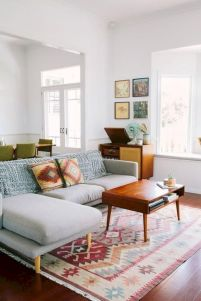 Charming gray living room design ideas for your apartment 23
