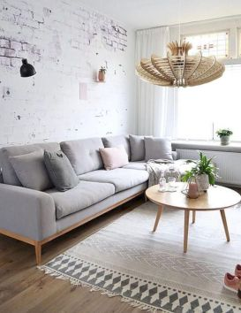 Charming gray living room design ideas for your apartment 25