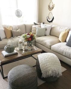 Charming gray living room design ideas for your apartment 43